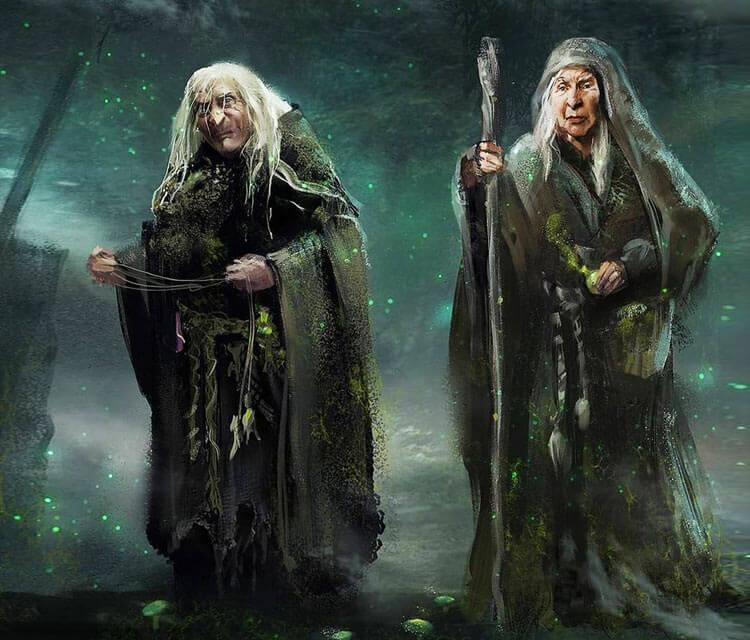 Baba Yaga digitalart by Aleksei Vinogradov