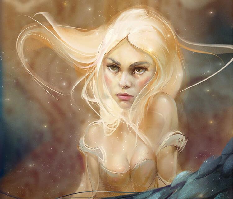Daenerys Targaryen digitalart by Aleksei Vinogradov