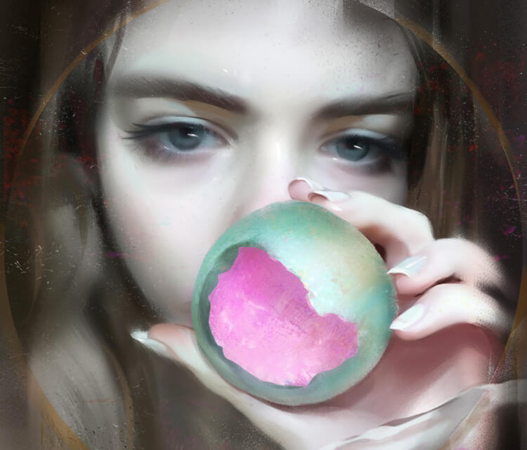 Pink digitalart by Aleksei Vinogradov