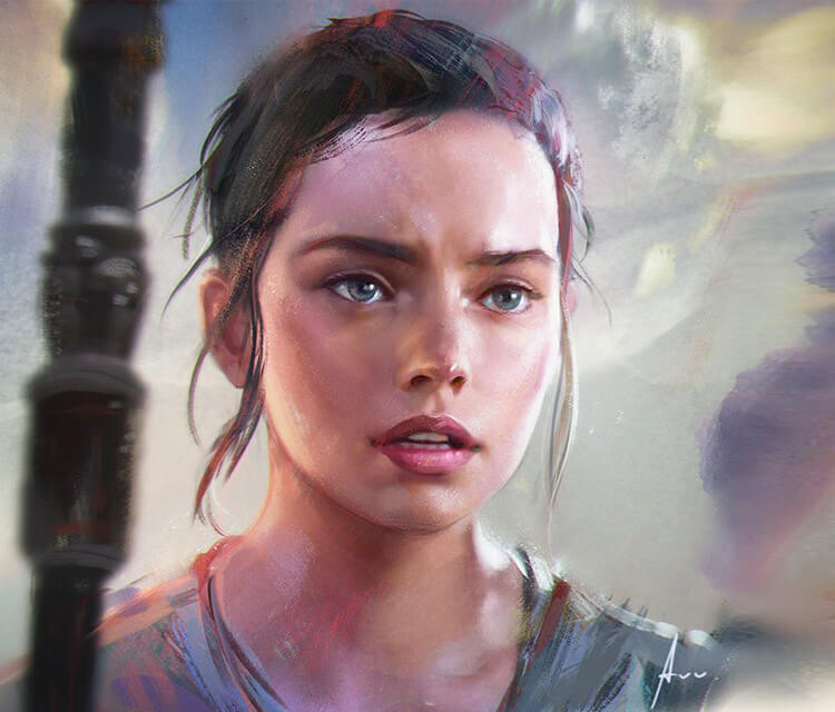Rey digitalart by Aleksei Vinogradov