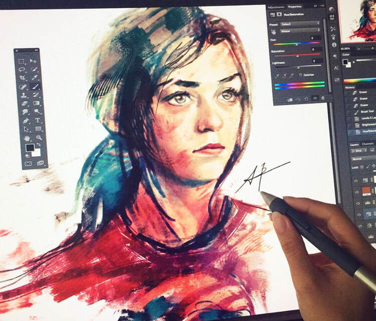 Arya Stark by Alice X Zhang