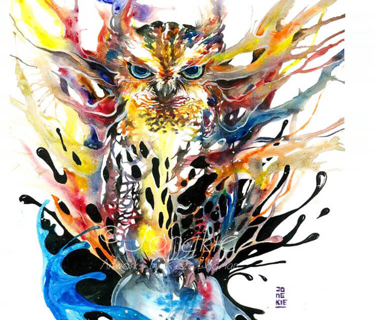 Owl The Magician by Art Jongkie