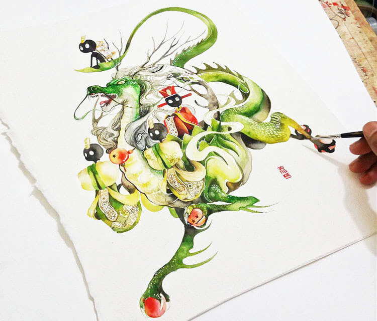 Dragon Shenlong by Art Jongkie