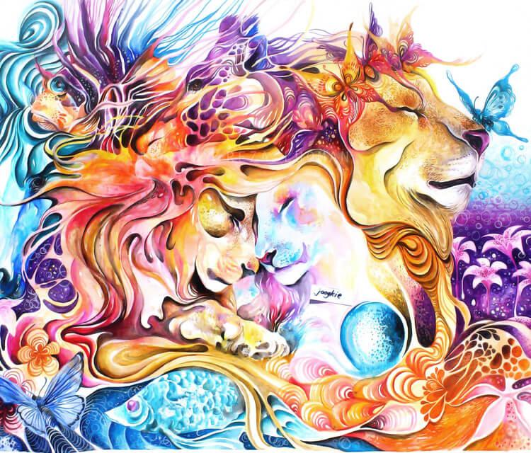 Memories watercolor by Art Jongkie