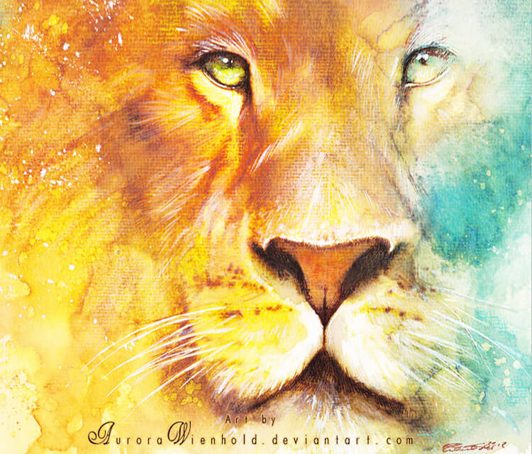 Narnia watercolor painting by Aurora Wienhold