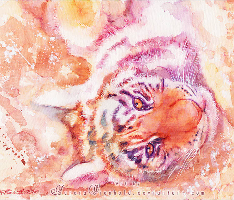 Wild thing painting by Aurora Wienhold