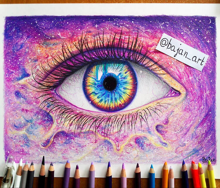 galaxy-eye-drawing-by-bajan-art