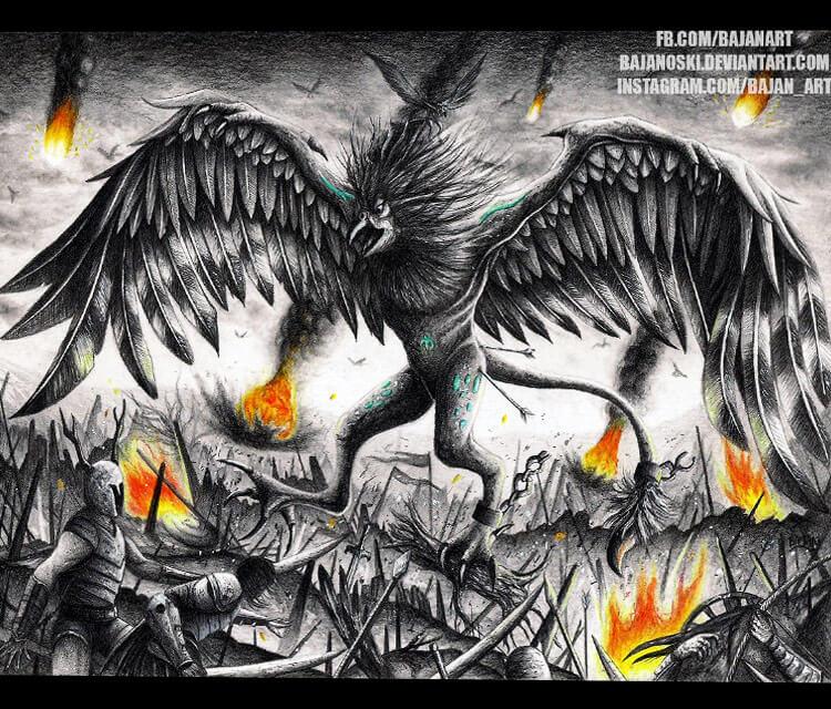 Sketch drawing by Bajan Art