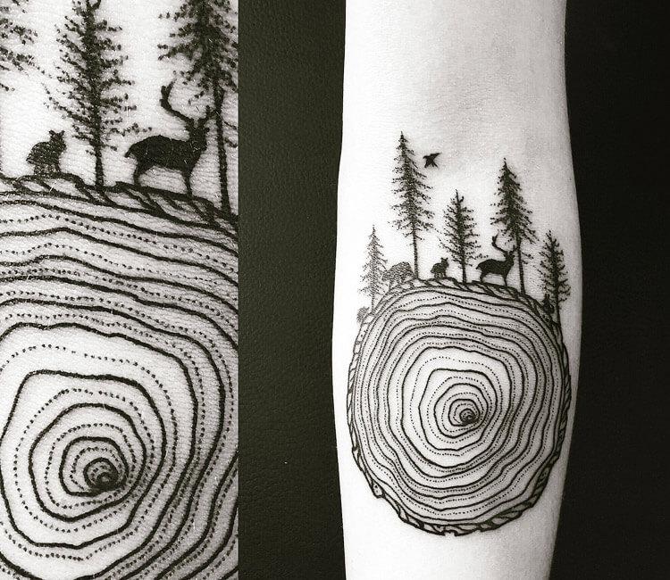 Growth layer tattoo by Bambi Tattoo