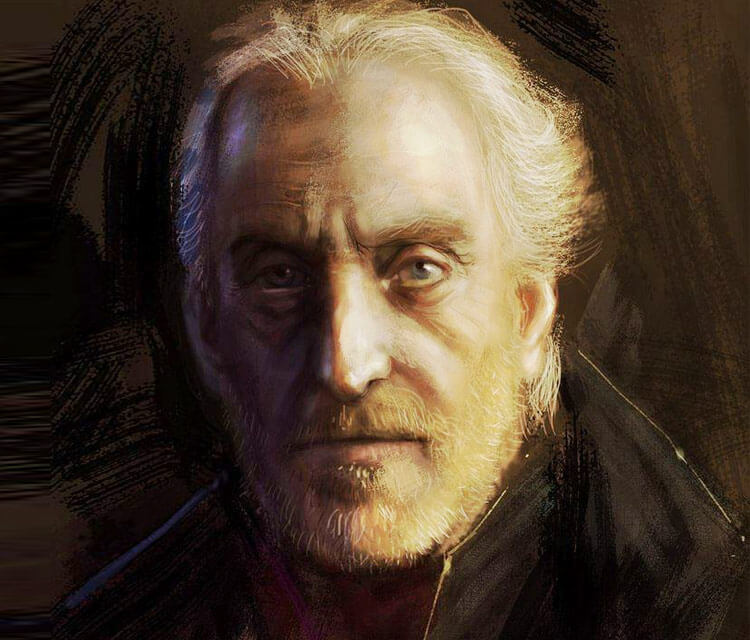 Tywin Lannister digitalart by Bella Bergolts