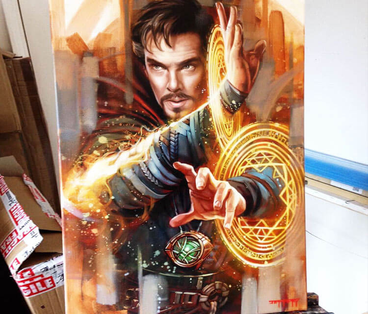 Doctor Strange by Ben Jeffery