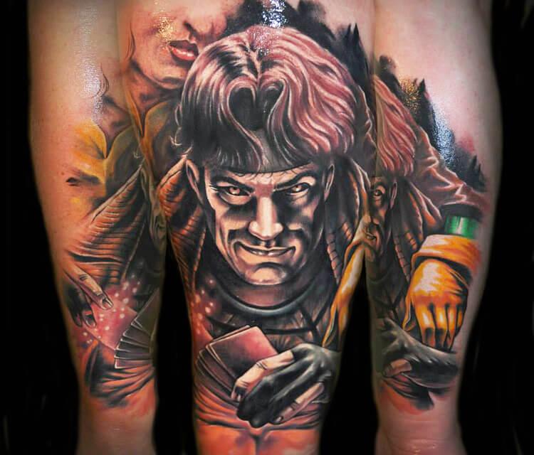 Tattoo of Gamemaster by Benjamin Laukis