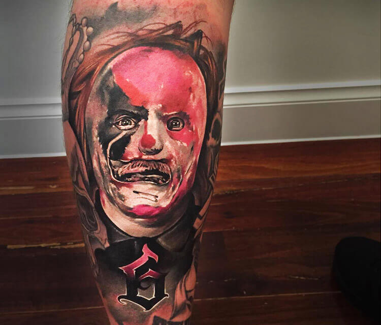 Slipknot 6 tattoo by Benjamin Laukis