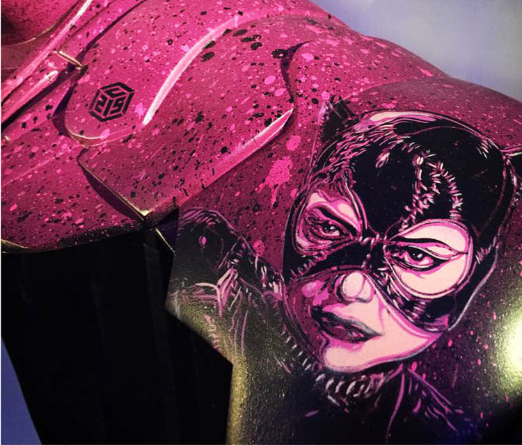 Catwoman 1 streetart by C215