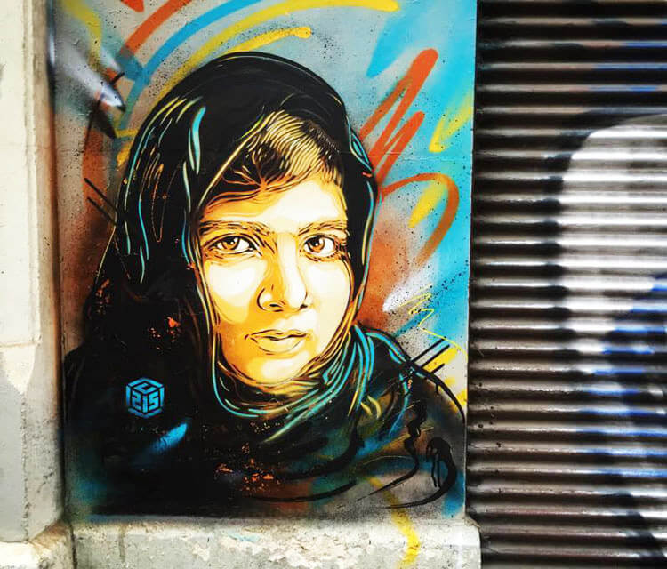 Grenoble Child  by C215