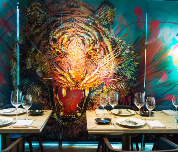 Lionel Belluteau Bibo restaurant by C215