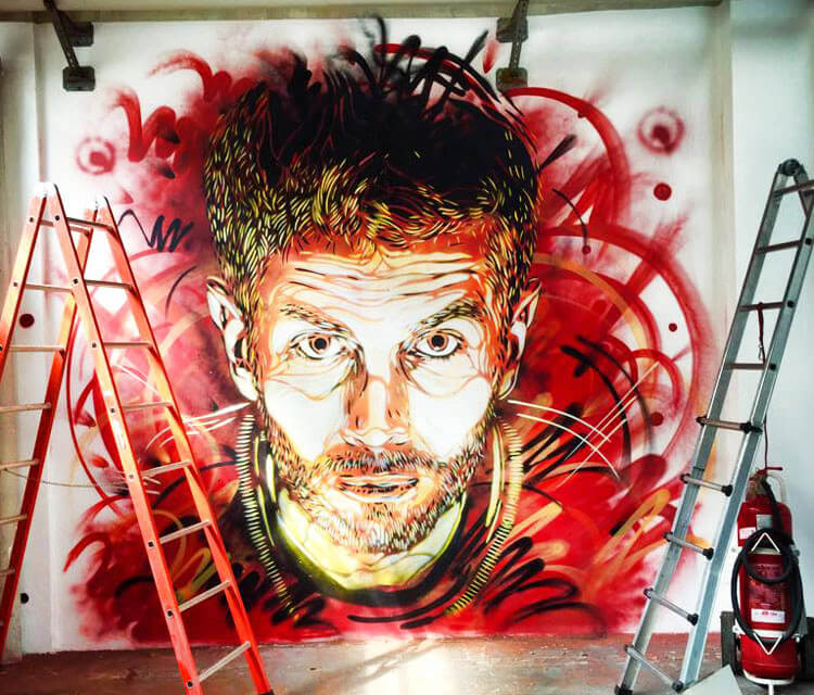 Somewhere in Milano  by C215