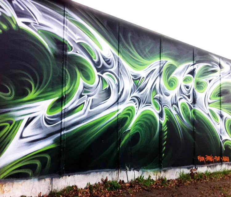 Graffiti 2 graffiti by Dan DANK Kitchener