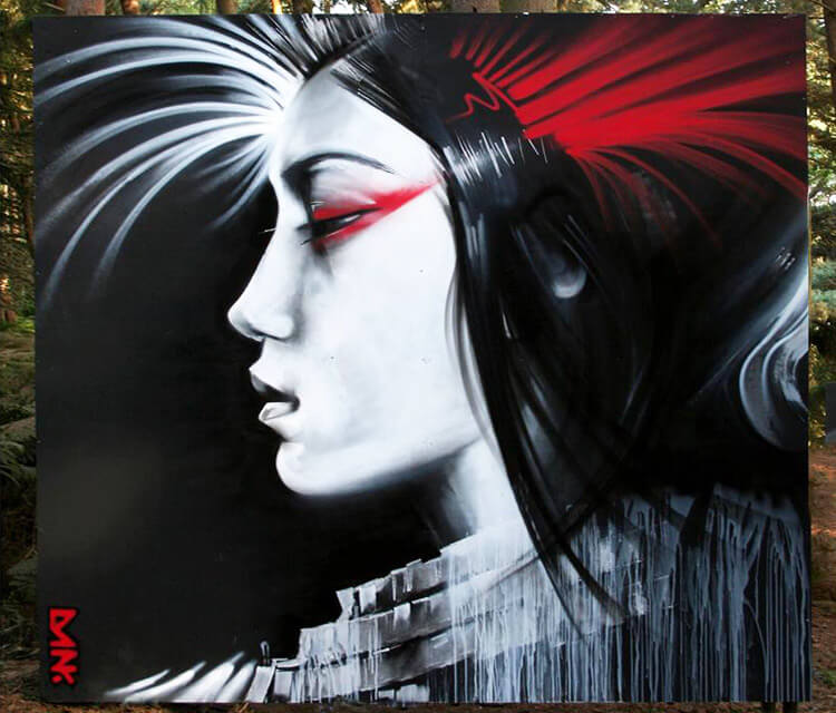 Latitude Geisha by Dan DANK Kitchener
