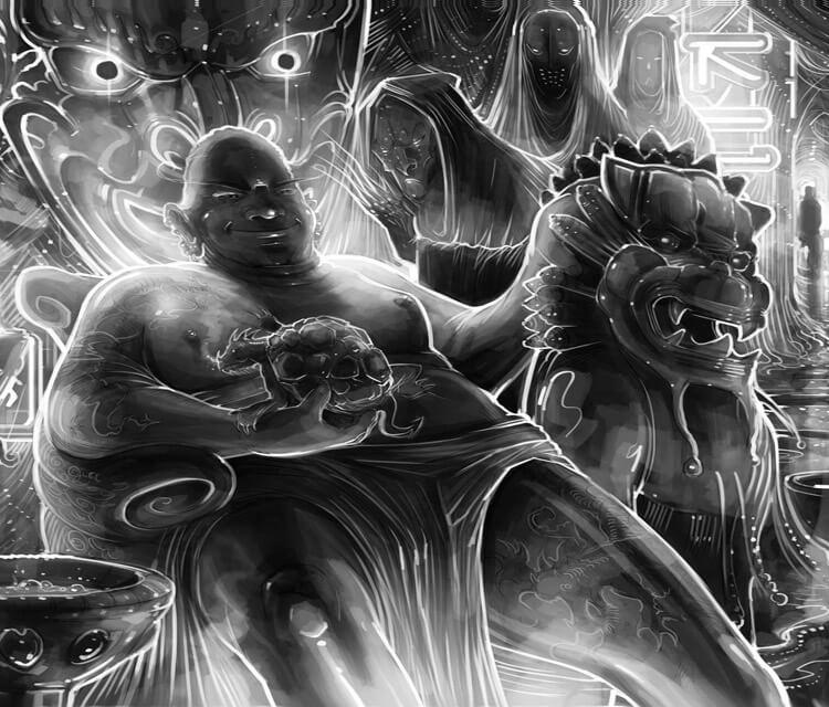 Lord Onis Lair digitalart by Dan DANK Kitchener