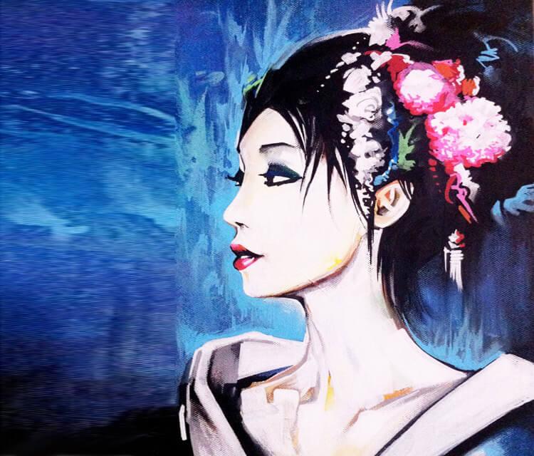 Tokyo Blue by Dan DANK Kitchener