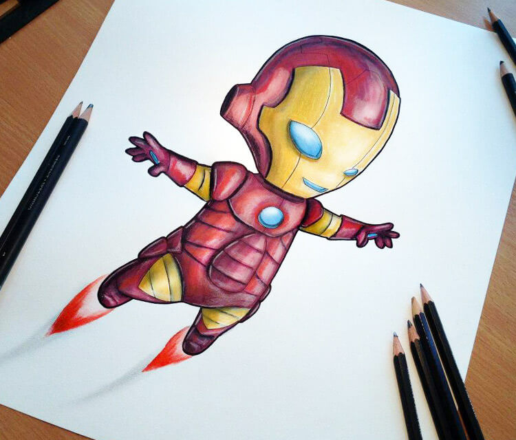 Baby Ironman by Dino Tomic
