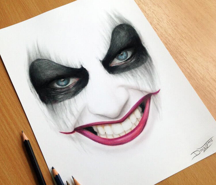 Harley Quinn drawing by Dino Tomic