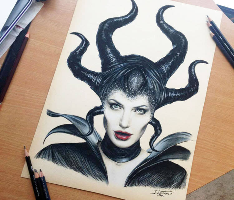 Maleficent by Dino Tomic