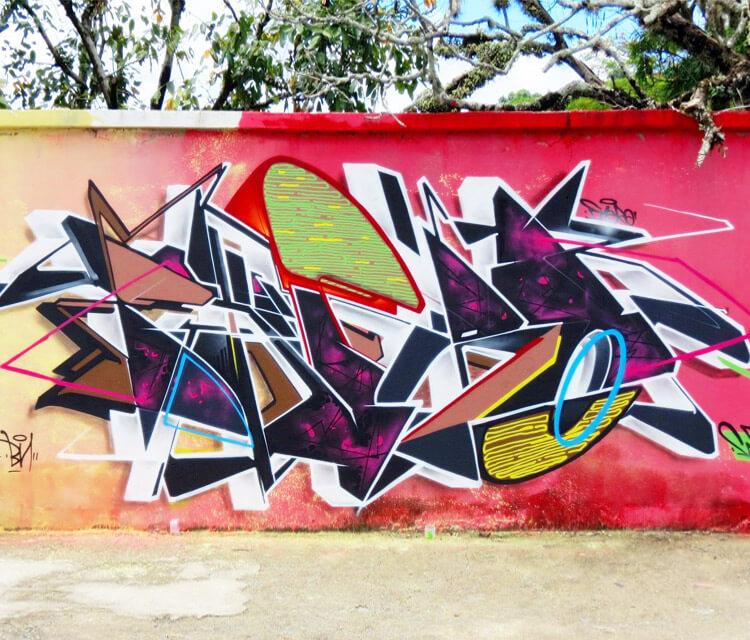 Graffiti wall 2 graffiti by Fhero Art