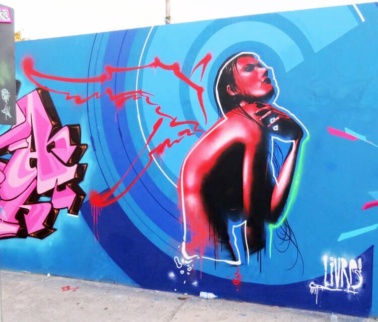 Kolirius Internacional streetart by Fhero Art