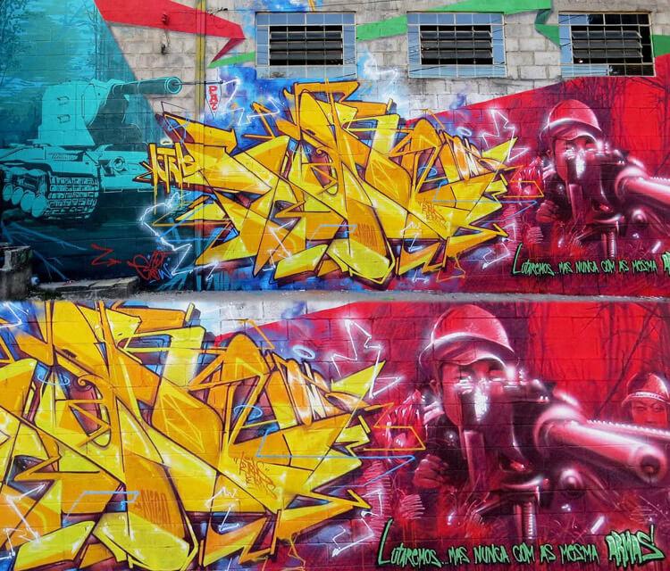 We will fight graffiti by Fhero Art