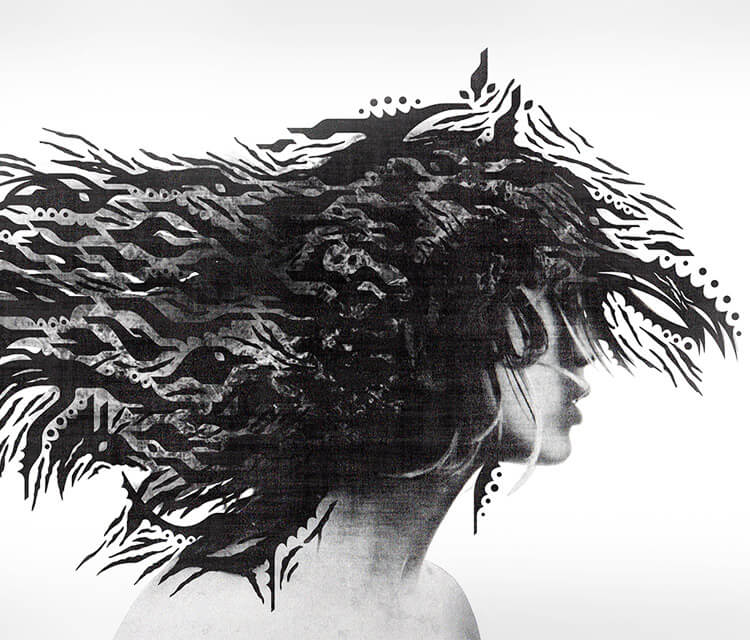 Wind In The Head digitalart by Frantisek Radacovsky