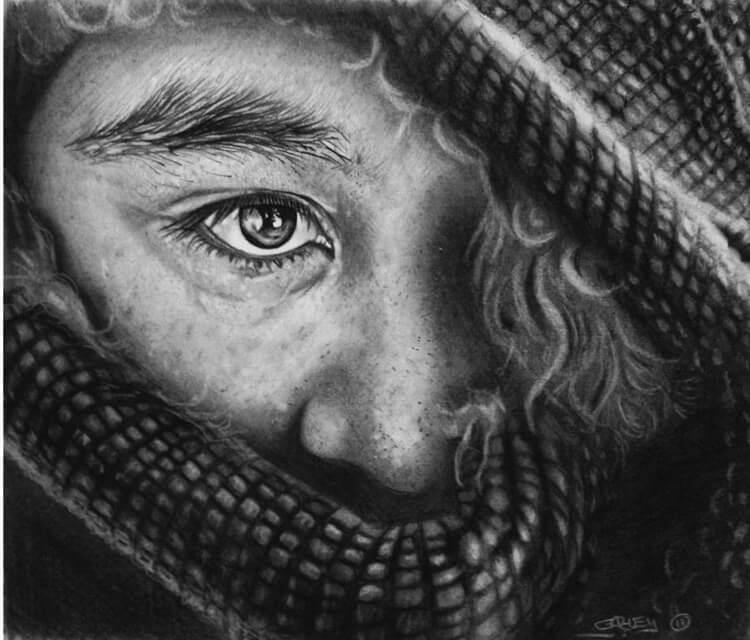 Look drawing by Garvel Art