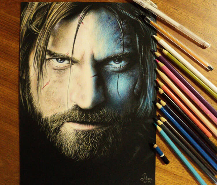 Jaime Lannister drawing by Guilherme Silveira