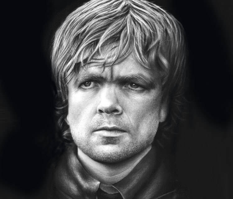 Tyrion Lannister drawing by Guilherme Silveira