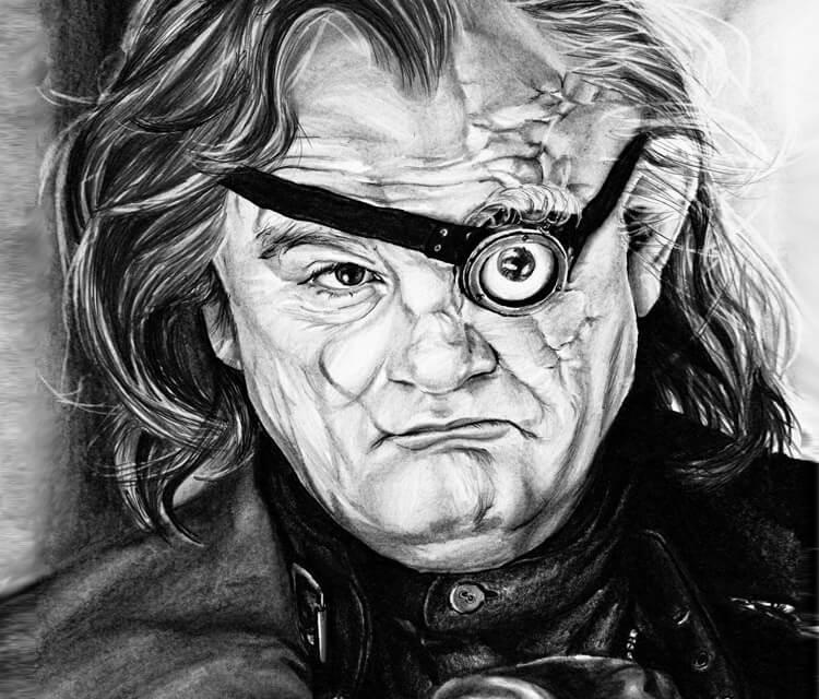 Alastor Moody drawing by Helene Kupp