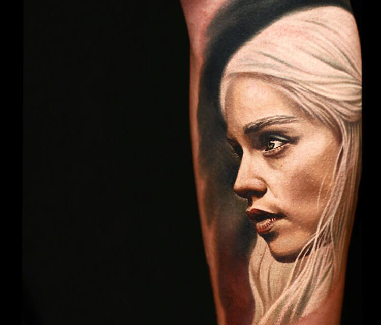 Games of Thrones tattoos by Nikko Hurtado