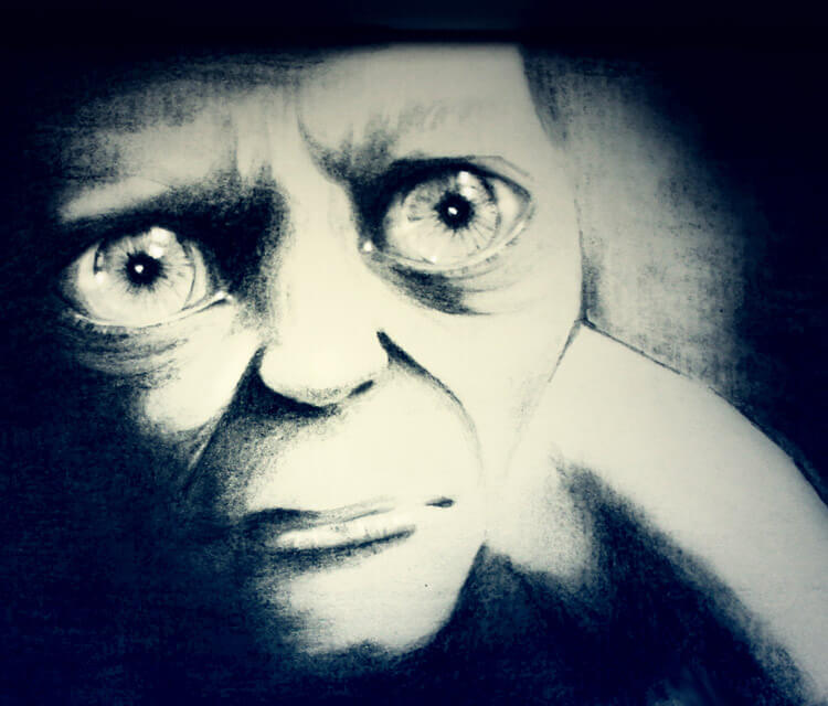 Smeagol painting by Kinko White