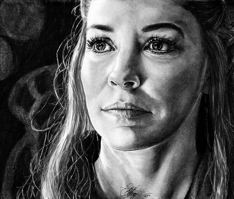 Tauriel from Hobbit drawing by Kinko White