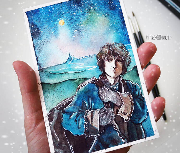 The Adventure begins painting by Kinko White