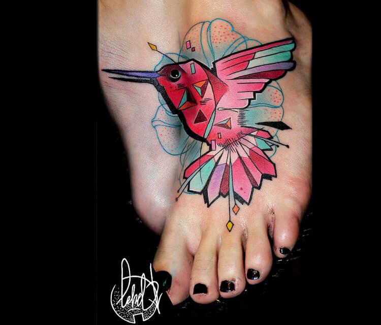 Bird tattoo tattoo by Lehel Nyeste