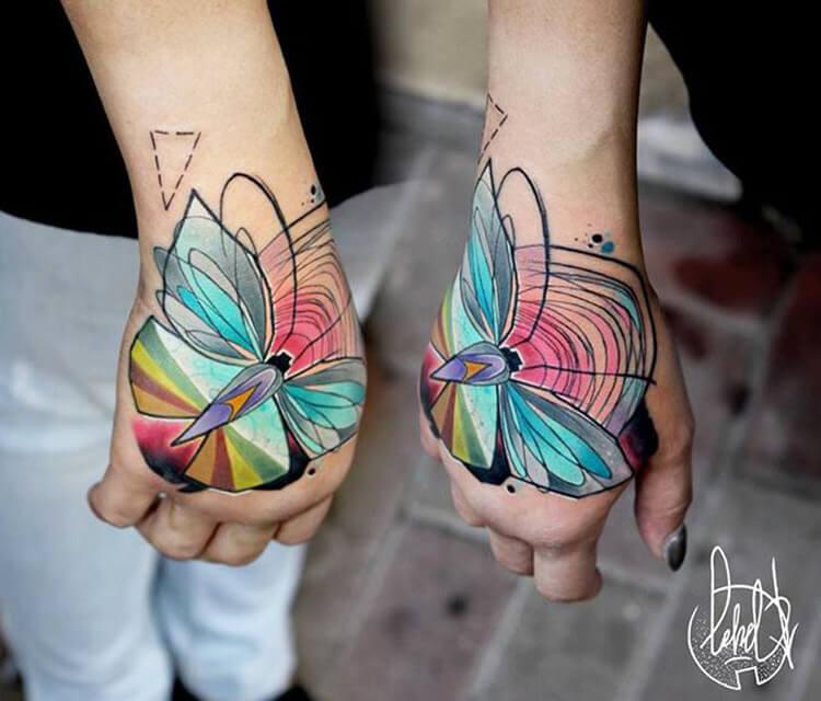 Bow tattoo by Lehel Nyeste