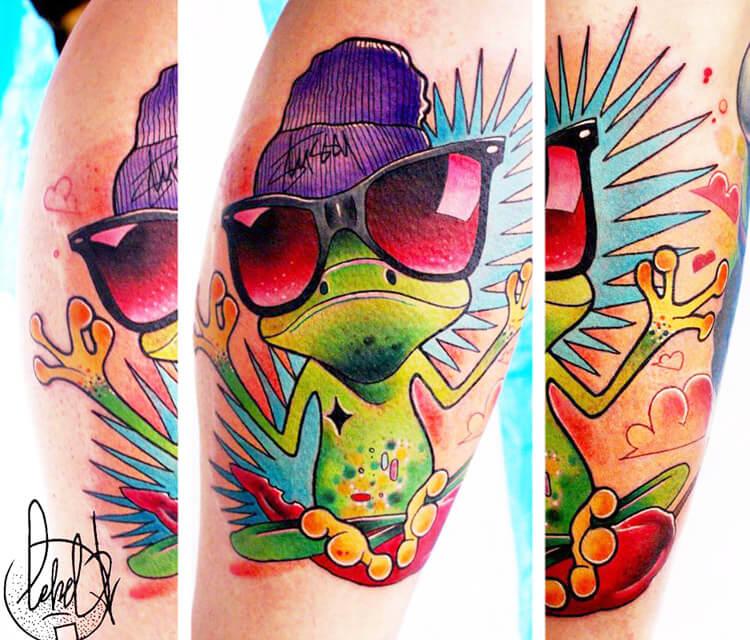 Frogy tattoo by Lehel Nyeste
