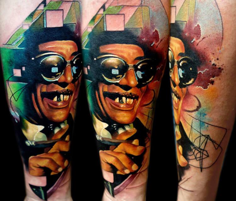Garga Bacsi tattoo by Lehel Nyeste