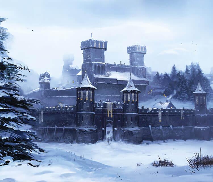 Winterfell digitalart by Lino Drieghe
