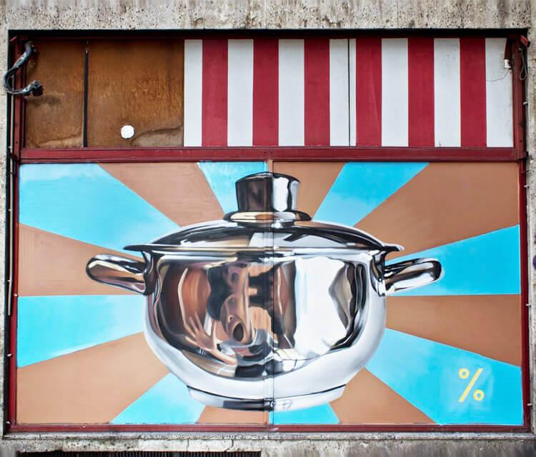 Streetart by Lonac Art