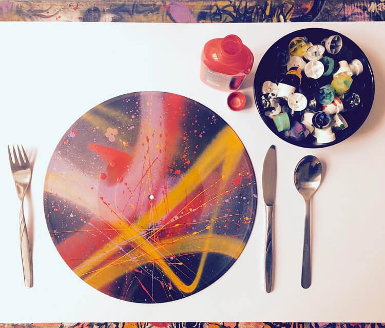 Bon appetite painting by Lukas Lukero Art