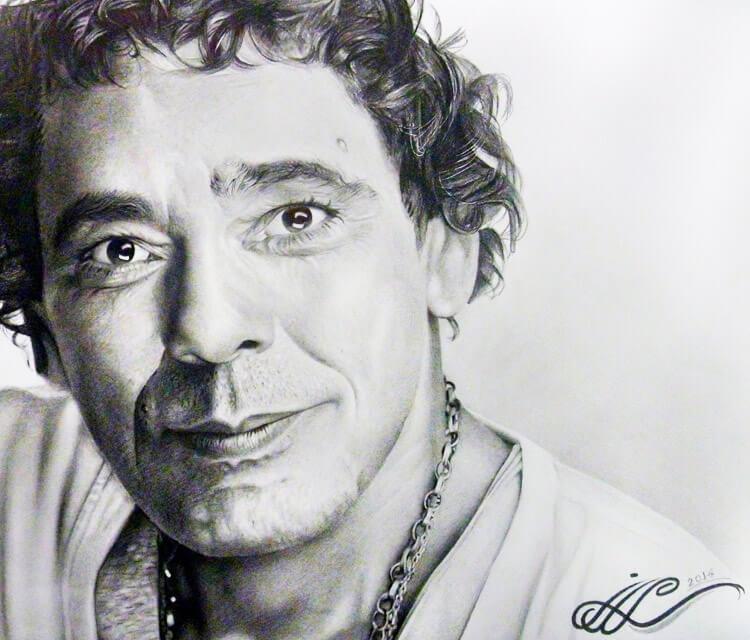 Misha drawing by Mahmoud Madane
