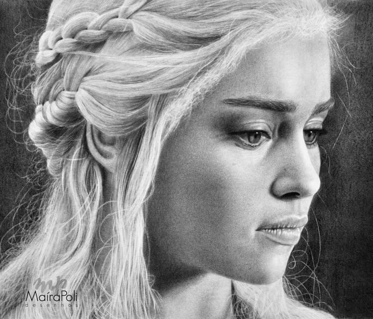 Daenerys Targaryen (GoT) by Maira Poli