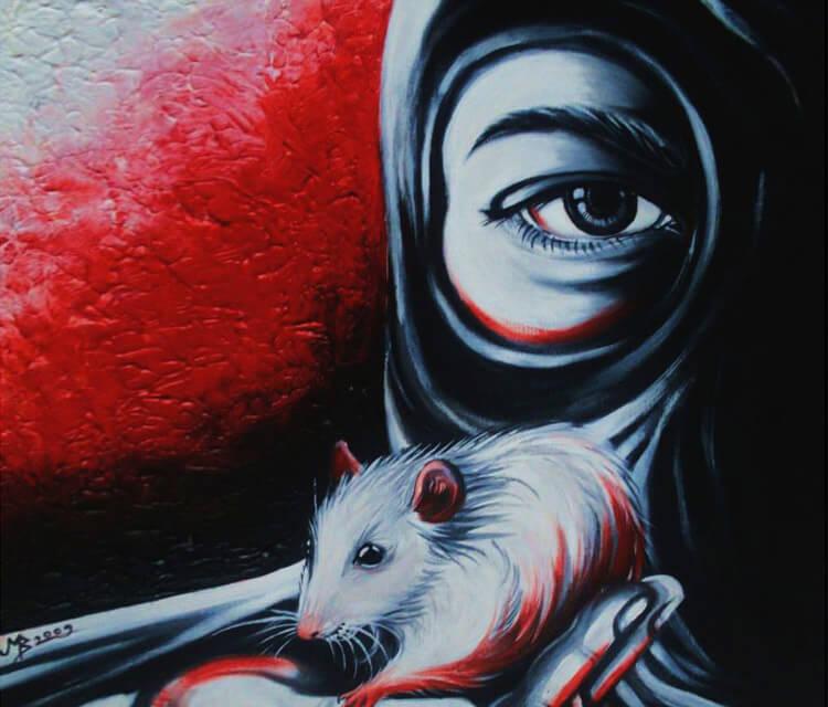 A L F Heroes painting by Mirik Bodliak